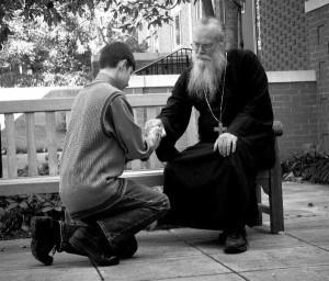 Благословение священника