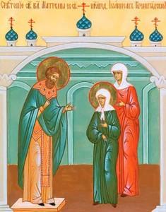 Встреча Матроны с Иоанном Кронштадским
