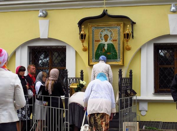 скачать икону матроны московской