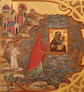 Иверская икона на море