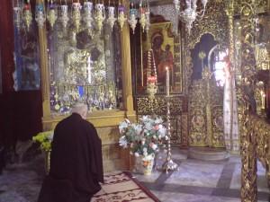 Иверская икона Божией Матери в монастыре