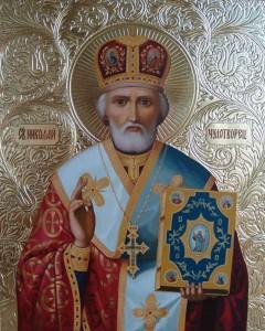 Николай Чудотворец -икона
