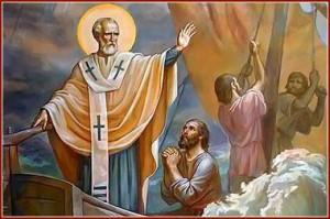 Святой Николай усмиряет бурю