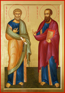 Икона Петр и Павел