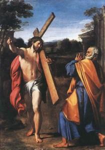 Петр встречает Иисуса