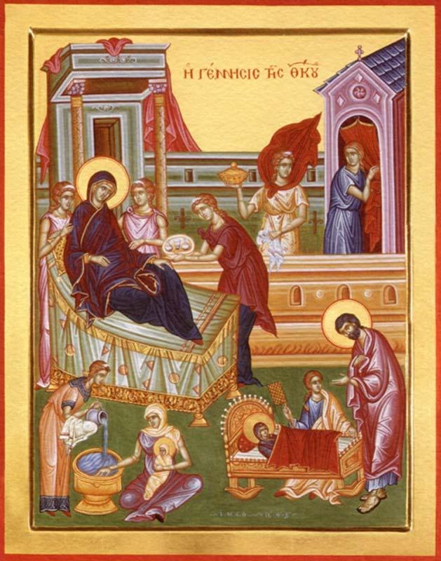 Картинки по запросу рождество пресвятой богородицы иконы