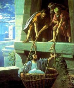 Савл бежит из Дамаска