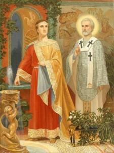 Святитель Николай у Константина