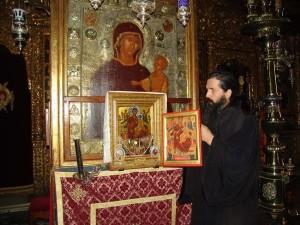 Всецарица Ватопедский монастырь