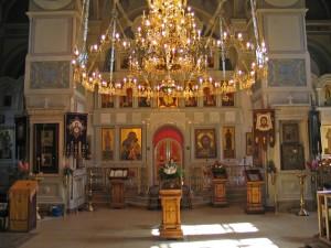 Всецарица в храме Всех Святых