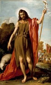 Иоанн Креститель в пустыне