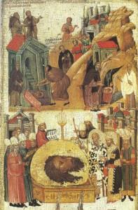 Третье обретение главы Иоанна Предтечи