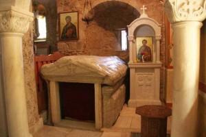 Гробница евангелиста Луки в Фивах