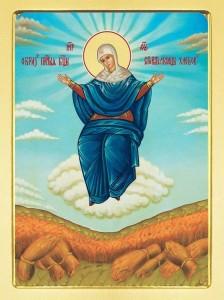 Икона БожиейМатери Спорительница хлебов