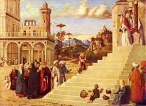 Святая Мария -введение во храм