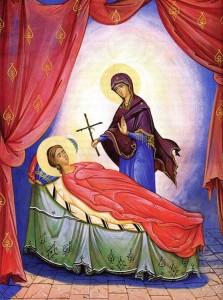 bogorodica-vruchaet-krest-svyatoj-nine